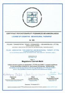 malik_certyfikat